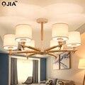 Новые люстры  Светильники для спальни  гостиной  комнаты для учебы  лампы для дома  3  6  8 головок  Lamparas De Techo  домашний декор