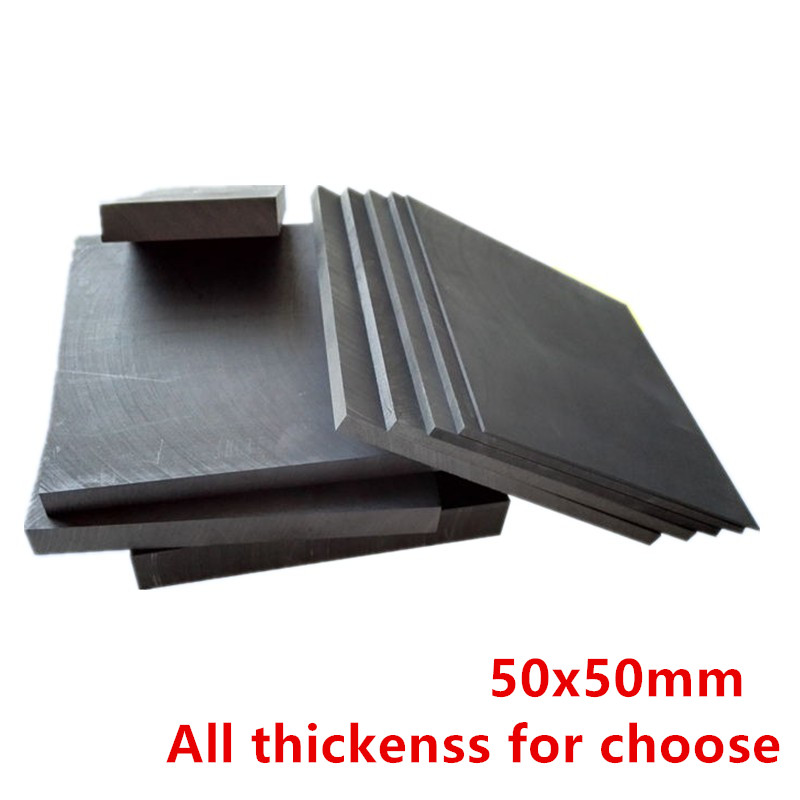 High Pure Carbon Sheet High Strength Graphite Eletrode Sheets Plate For Industry