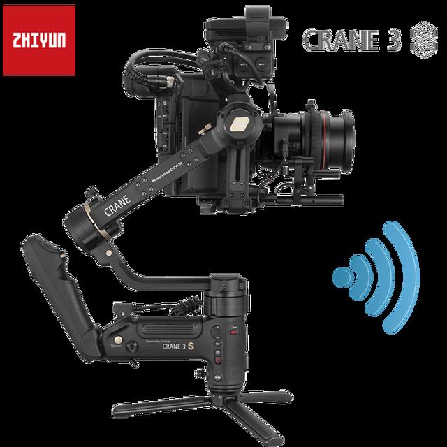Zhiyunクレーン3s smartslingキット3軸ハンドヘルドジンデジタル一眼レフカメラとビデオカメラ