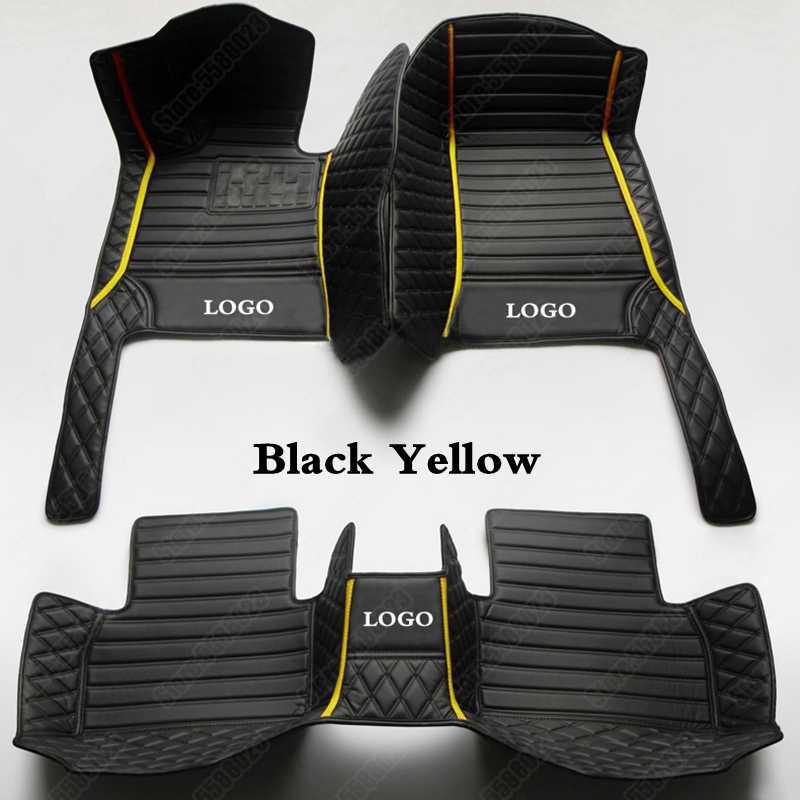 tapis de sol de voiture 3d en cuir pour ds ds5ls ds3 ds4 ds5 ds6 ds7 ds4s accessoire de voiture personnalise