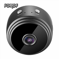 Mini Camera WiFi HD 1080P Camera Indoor Home Small Cam Security Camera Built in Battery Night Vision for IPhone Android PC IPad