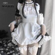 Amine – vêtements de Cosplay pour serveuse Lolita, noire, Kawaii, robe française pour filles, Costumes de scène de fête, tenue de café japonais, 2021