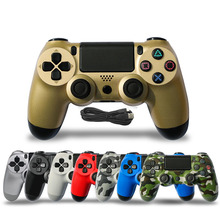 Dualshock 4 USB Wired Controller For PS4 PRO Joystick Gamepa