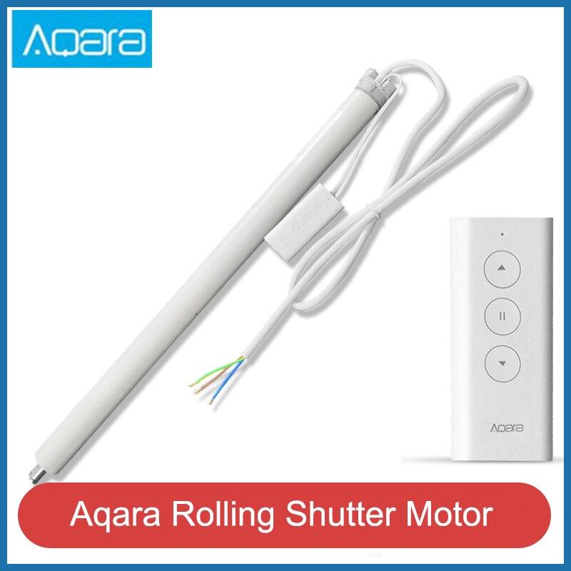 Aqara rolamento do motor do obturador inteligente inteligente cortina zigbee casa inteligente mi smarphone app controle remoto