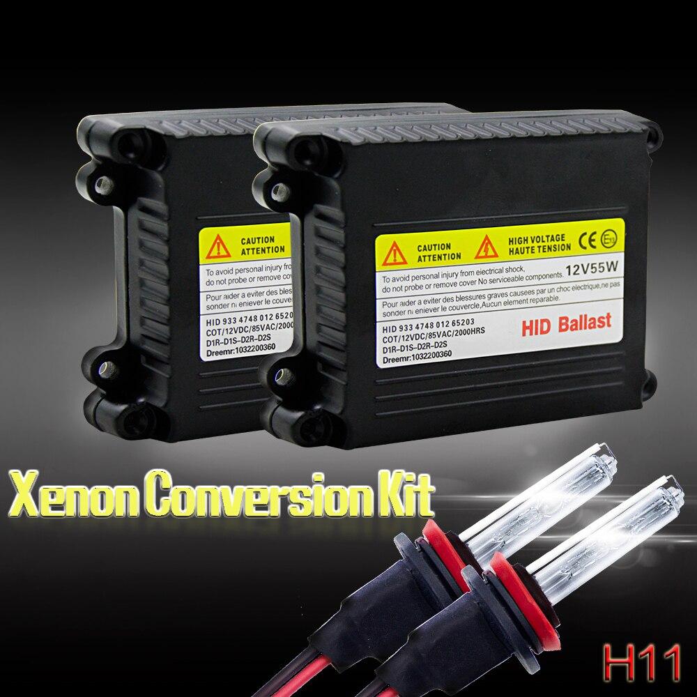 h1 h11 xenons lâmpada kit de conversão