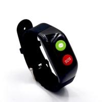 Jelly Comb Elderly Kids GPS LBSTracker Smart Watch for Map SOS Wristwatch Anti-lost Gps+Wifi Tracking Watch