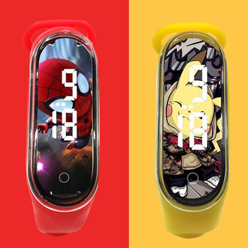 2020 New Bracelet Electronic Kids Watches Cartoon LED Sports Clock Fashion Children Watch ForGirls Boys Gift reloj infantil colorful kids watches bright rose red digital watch for children sports boys girls luminous led waterproof clock reloj infantil