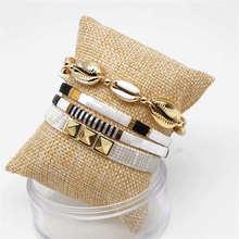 Go2boho Tila Beads Bracelets Perles MIYUKI Bracelet Shell Pulseras Mujer Jewelry For Women Bileklik 2019 Summer Beach Handmade