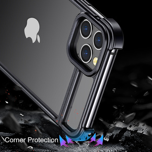 Image 5 - New Metal Frame Phone Case For Iphone11 11pro Magnetic Attraction Bare Machine Feel Drop proof Phone Cover For Iphone11 pro max