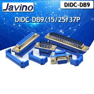 2 шт. D-SUB DIDC 9 15 25 37Pin DB9 DB15 DB25 Мужской Женский головная линия прессования типа разъем D SUB DIDC-9P 15P 25P разъем