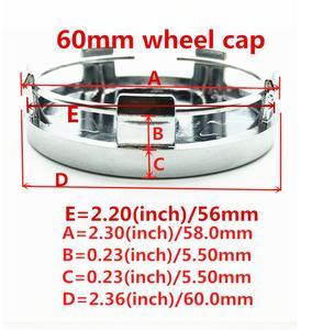 4 шт. 56 мм 60 мм 65 мм 68 мм 90 мм модификация центральный колпак на колесо автомобиля значок пылезащитные Чехлы эмблема наклейка автомобиль аксессуары для укладки