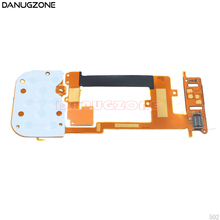 10 unids/lote para Nokia 2220 2220S LCD + teclado flexionar diapositiva Cable