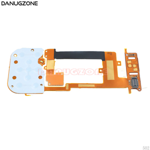 Image 1 - 10PCS/Lot For Nokia 2220 2220S LCD + Keyboard Button Board Keyboard Slide Flex Cable