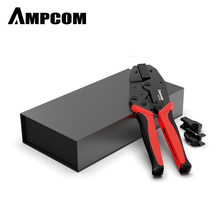 CAT7 Crimper Tool Crimping Plier AMPCOM Network Professional Crimper for CAT7 CAT6A STP Modular Plugs with RJ45 8P8C Connector