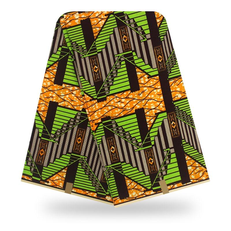 African Wax Prints Fabric Ankara Wax African Wax Tissus 100% Cotton Hot Sale African Fabric Ankara 2019 High Quality Wax Yard