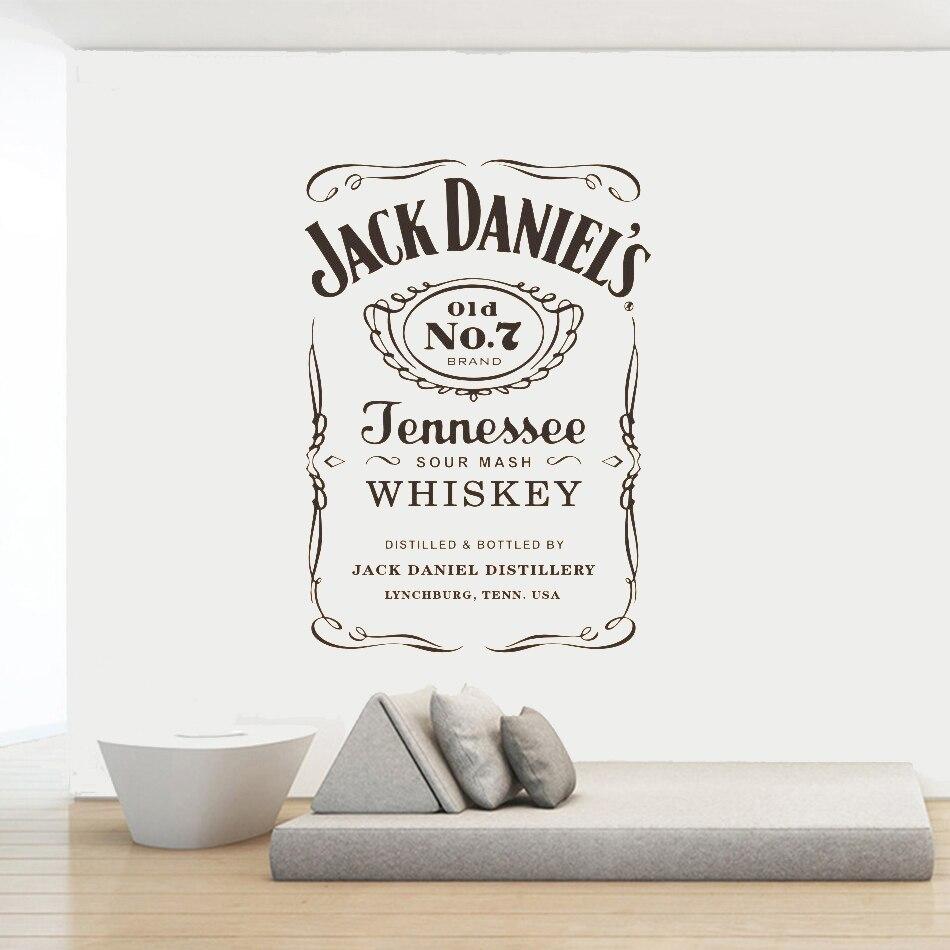 Hot Promo #3727 - Jack Daniels Wall Decals JD Wall Art ...