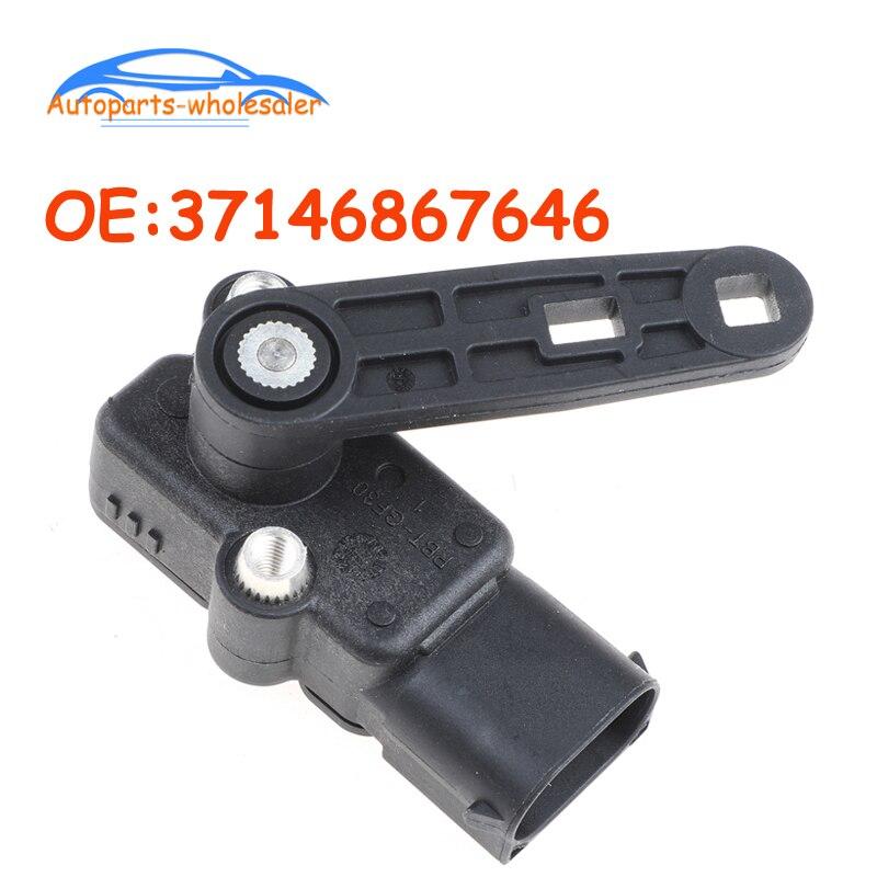 Yeni 37146867646 3714-6867-646 6867646 BMW 2er F45 F46 X1 F48 X5 F15 X6 Mini F54 yükseklik seviyesi sensörü araba otomobil parçaları