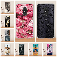For Alcatel 1C Case Cover Soft TPU Back Cover Silicone Phone Cover Alcatel 1C 5009A 5009D Case Cover for Alcatel 1C Case Capas(China)