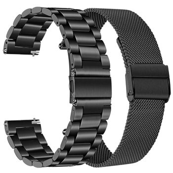 2 set galaxy watch 3 45mm 41mm band for samsung active 2 amazfit bip gts correa 20 22mm bracelet for huawei watch gt 2 2e strap