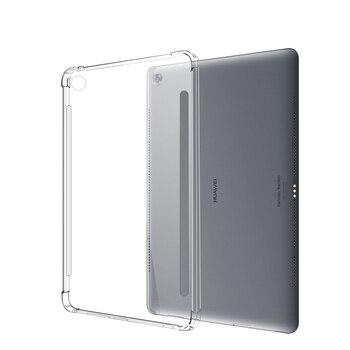 Funda transparente de silicona de TPU blando transparente para huawei M 5 Pro 10,8 M 3 8,0 8,4 10,1 lite 8,0 pulgadas TPU