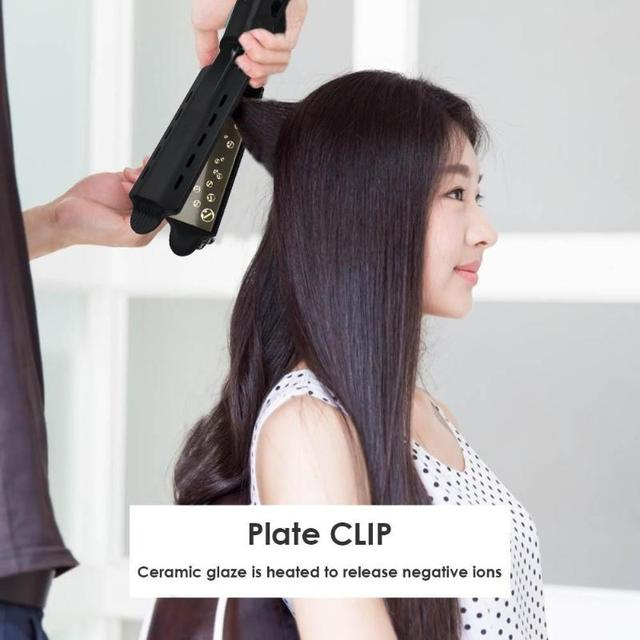 Professional Hair Straightener Four-gear Fast Warm-up Adjustment Ceramic Tourmaline Ionic Flat Hair Straighting Tool Dropshiping 2