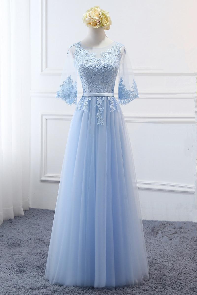 Women's Event Prom Long Dress Bridesmaid Graduation Party Dress Robe De Soiree/платье вечернее/evening Dress