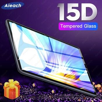 15d proteção de vidro para huawei mediapad m5 lite m3 10 8.0 t5 protetor de tela para huawei mediapad m6 m5 10.8 8.4 vidro temperado