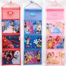 Дисней Принцесса Детский кошелек для хранения висячая сумка замороженная Эльза для небольшого шкафа хранения стены Дверь задний карман сортировочная сумка