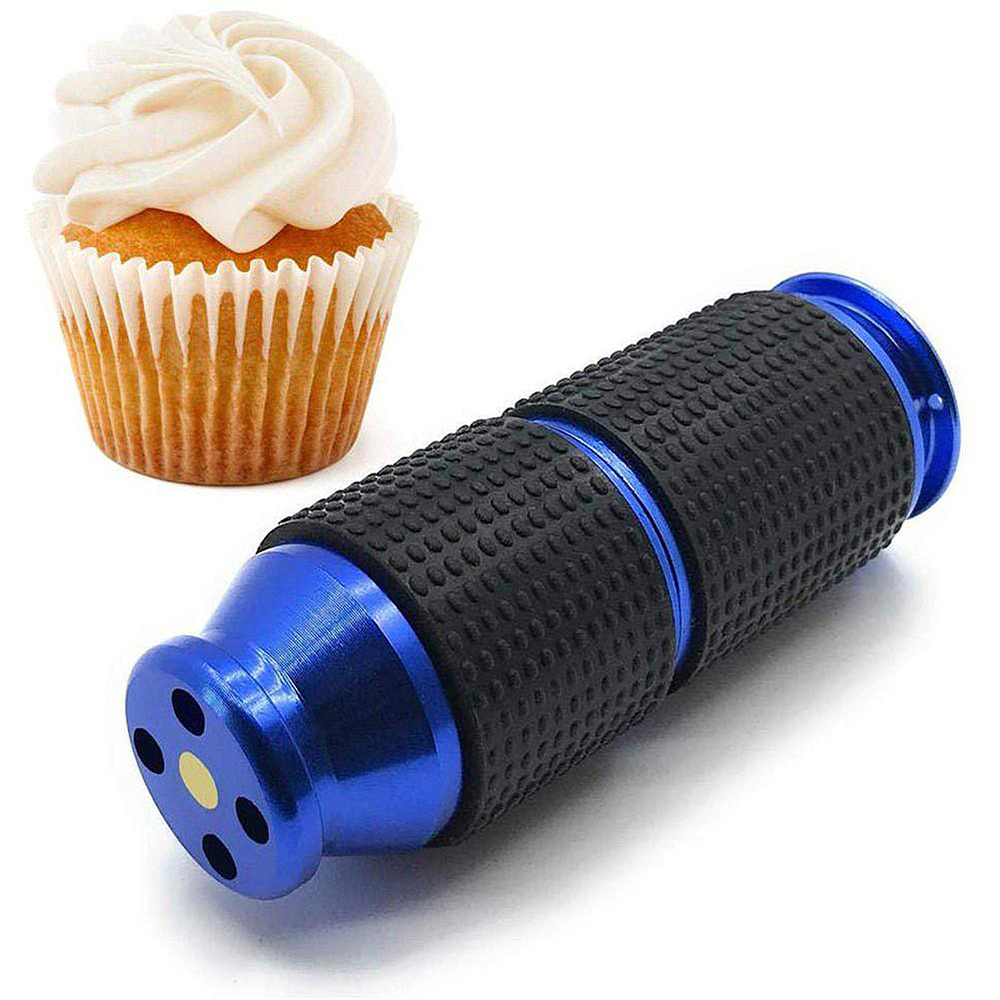 Portable The 3rd Generation Whipped Cream Cracker Dispenser Rubber Grip Safe Gas Canister Bottle Opener Silicon Laughing Gas