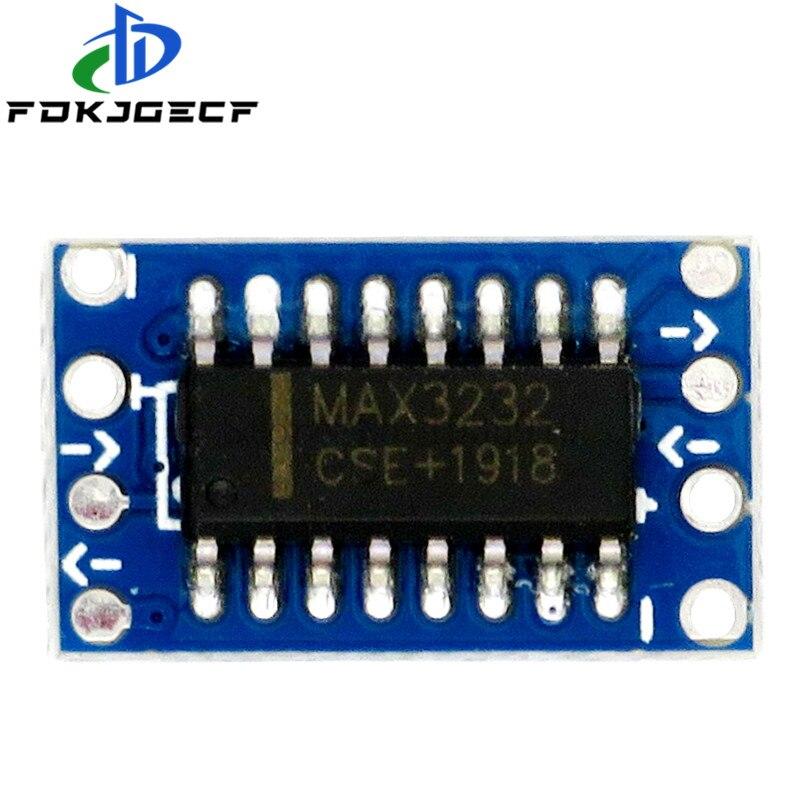 Серийный порт мини RS232 в TTL конвертер адаптер Модуль платы MAX3232 115200bps