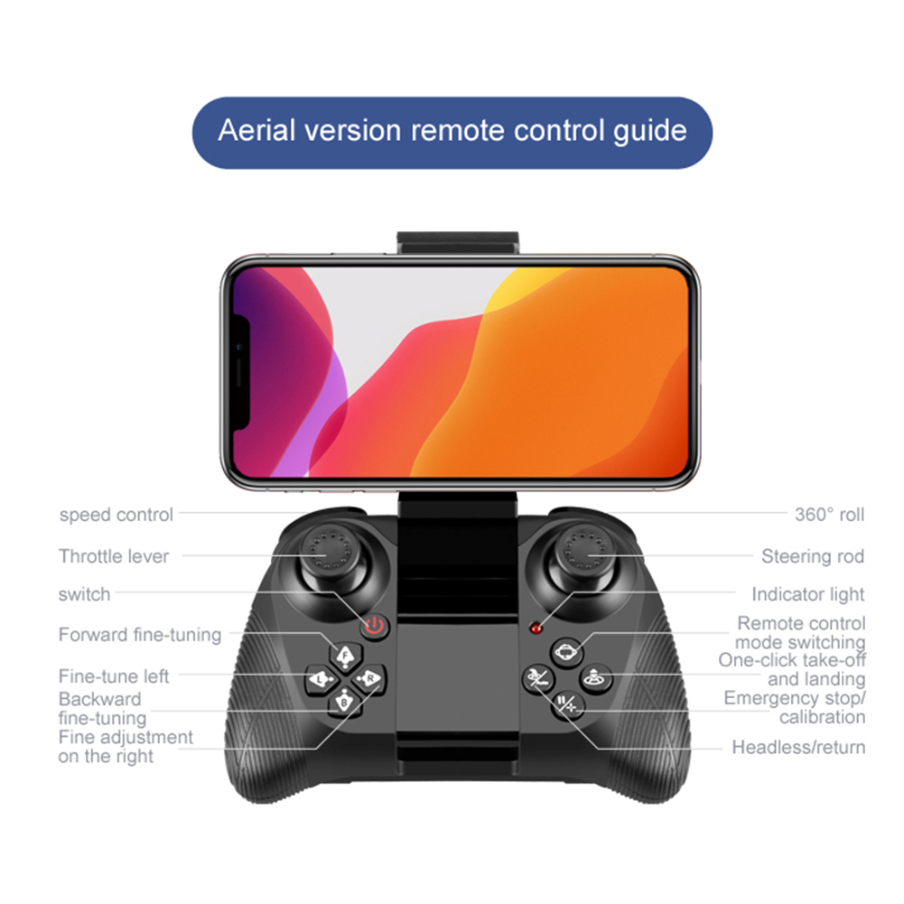 H3d261bd4bf6942af8bfea38959cce383Q - New V8 Mini Drone 4K 1080P HD Camera WiFi Fpv Air Pressure Height Maintain Foldable Quadcopter RC Dron Toy Gift