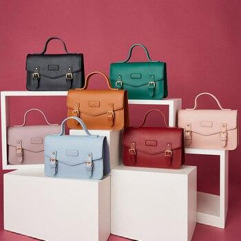 Nuevos Bolsos de hombro de diseñador de marca para mujer, bolso de mano, bandolera cruzada de cuero para mujer, Bolsos de mano, bolso
