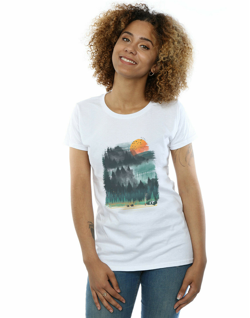 Dan Dingeroz Women'S National Parks T-Shirt Harajuku Hip Hop Tee Shirt image