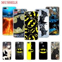 Batman Superhero TPU Phone Cases for Huawei Honor 8X 20 9 10 Lite 8A 10i 20i 8S V20 Y5 Y6 Y7 Y9 2019 Coque Cover Capa