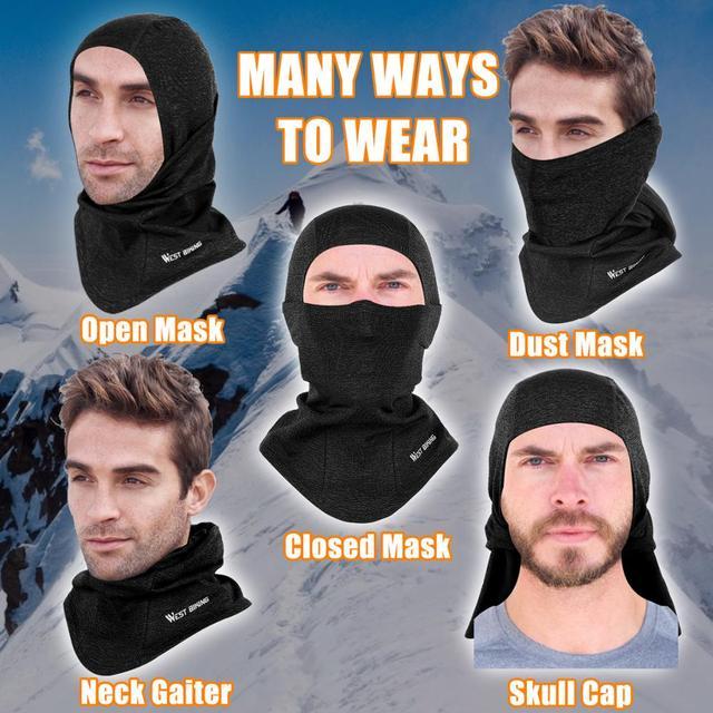 Full Mask Warm Scarf Balaclava
