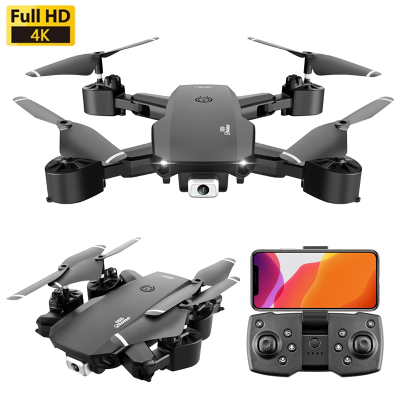 Dron 4k Professional Drones RC Quadcopter Fpv Drone With Camera HD Wide-angle Wifi Foldble Professional Drones Toys For Children