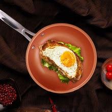 Sweettreats антипригарная медная сковорода для жарки с керамическим покрытием и индукцией приготовления пищи, в духовке и посудомоечной машине 10 дюймов 12InchK888