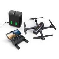 Eachine e MJX B4W Dron 5G WIFI FPV Con 4K HD Droni Con Foto/videocamera Ad Ultrasuoni GPS Follow Me Brushless Pieghevole motore RC Quadcopter RTF