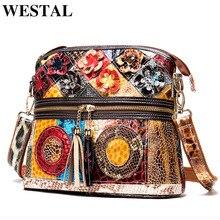 WESTAL patchwork shoulder bags for women bags