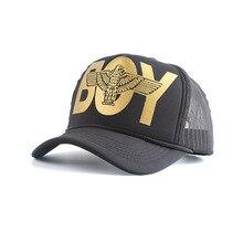 Nueva gorra de béisbol de verano para hombres y mujeres gorra de caminero Hip Hop sombreros de malla transpirable de algodón para el sol Gorras Streetwear hueso Unisex
