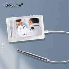 3.9MM Video Otoscope Camera 1080P Ear Inspect Earwax Camera 4.3Inch Screen HD Display Digital Waterproof Endoscope Cleaning Tool
