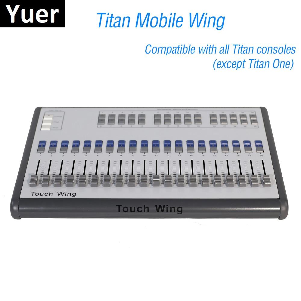 Le contrôleur professionnel d'éclairage de scène de Console de DMX d'aile Mobile de 1 unités soutient toutes les Consoles de Quartz de contact de tigre de Console de Titan