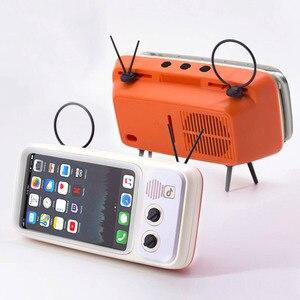 Retro TV Mobile Phone Holder S