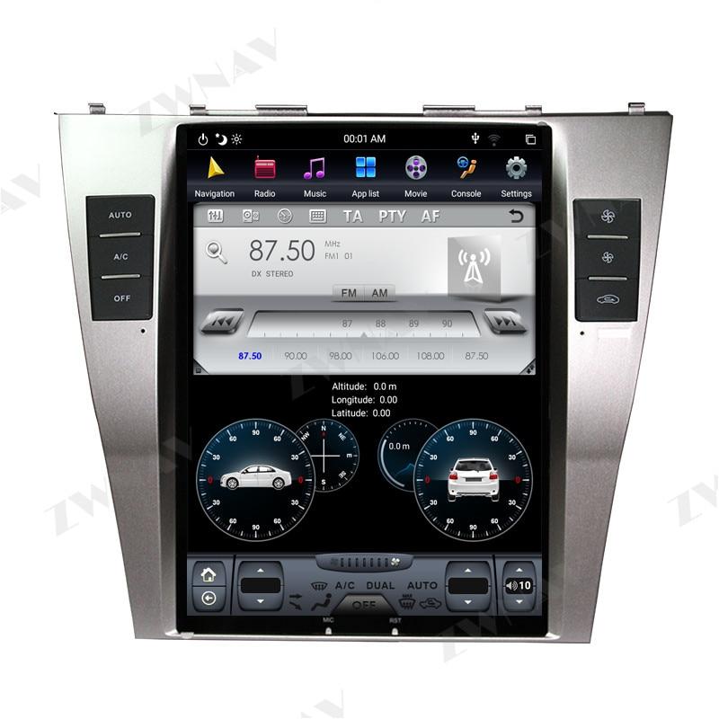 Купить 4g128g android 10 tesla экран автомобильный мультимедийный плеер