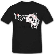 Tigre broche wk tanque instruções de operação comic wh treinamento t camisa #2213(1)