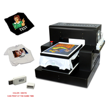 Flatbed Printer Free-T-Shirt-Holder Garment Automatic A3 for Shoes Bags Jeans