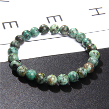 Natural Healing Energy Tiger Eye Bracelet Polished 8 mm Lapis lazuli Beads Bangle Elastic Pulsera Women Jewelry Men Bracelets