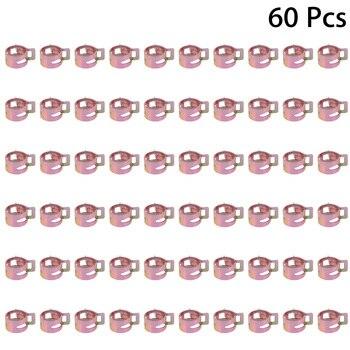 Demino 10PCS // Leicht zu Luftschlauchschellen Sortiment Kit Diesel in Rohrschellen Set 7-9mm Mini Clamp Fuel Injection Hose f/ür den Einsatz