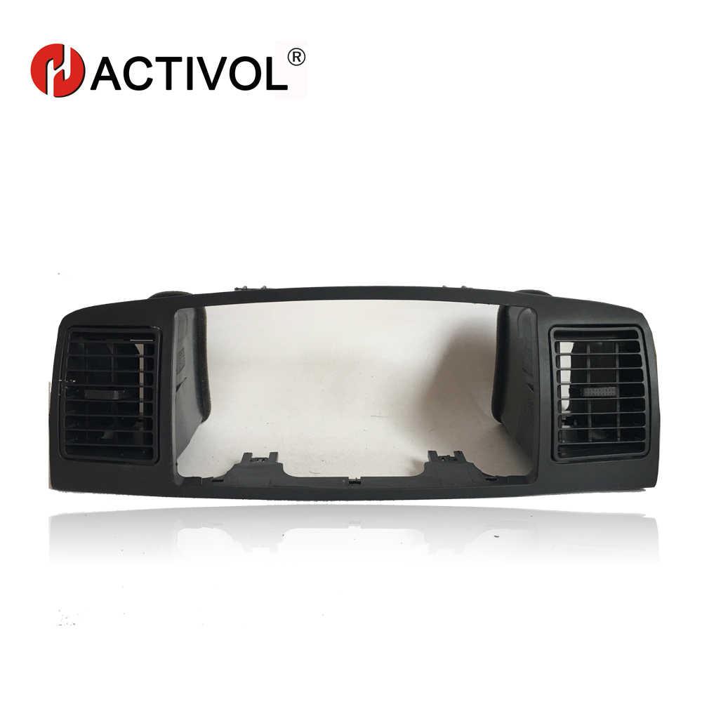 2 דין רכב רדיו מסגרת עבור טויוטה קורולה E120 קורולה EX BYD F3 2013 שחור רכב נגן DVD פנל דאש הר ערכת רכב מוצרים