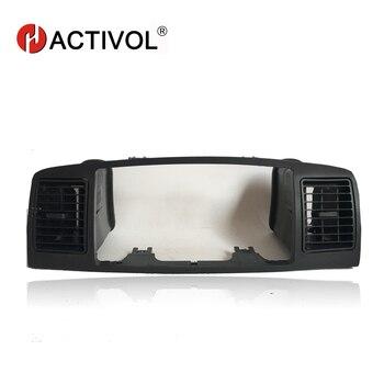 2 din Автомобильная рамка радио для Toyota Corolla E120 Corolla EX BYD F3 2013 Черный автомобильный DVD плеер панель Набор для крепления на приборную панель автом...